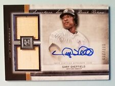 2020 Topps Museum Collection GARY SHEFFIELD Dual Relic Auto /299!