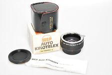 WEP Auto Kinotelex - 2x Telekonverter - für Pentax K   ++++guter Zustand+++