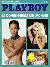 * Playboy Collezione 1998 N°32 * LE DONNE PIU' BELLE DEL MONDO *