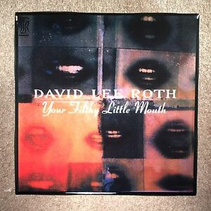 DAVID LEE ROTH Your Filthy Little Mouth Coaster