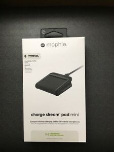 mophie Charge Stream Mini 5W Qi Certified Wireless Universal Charging Pad