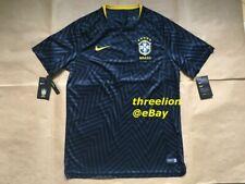 BNWT Nike 2018/19 BRAZIL BRASIL Pre Match Squad Training Soccer Jersey Shirt XL
