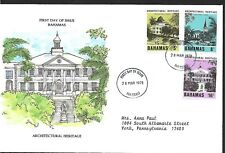 BAHAMAS 1978 FIRST DAY COVER, NASSAU PUBLIC LIBRARY