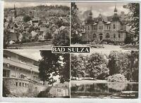 Ansichtskarte Bad Sulza - Teilansicht/Inhalatorium/Kurhaus/Partie am Teich - s/w