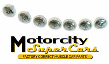 69-70-71-72 442 GTO Chevelle Front Windshield Chrome Trim Molding Screws Washers