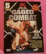 IFC WORLD TOUR CAGED COMBAT - Lot of 5 DVDs - 88 Fights