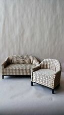 Economy Priced 1:6 Scale Furniture for Fashion Dolls  2pc. Sofa Set 4300GD
