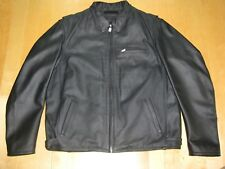 Triumph Motorcycles Men's Black Leather Jacket  SIZE XXL (54/64)