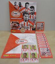 Panini PSV Album Empty + 10 packs + Extra stickers 2017-2018. Family Jumbo 2018