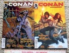 CONAN The Barbarian #15 & 18 Dark Horse Comics 2013