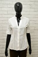 Camicia MARC O' POLO Donna Taglia 36(S) Maglia Blusa Shirt Woman Elastico Bianco