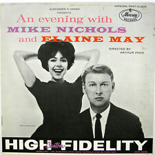 MIKE NICHOLS AND ELAINE An Evening With LP 1961 SPOKEN WORD/COMEDY VG++ NM-