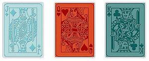 Sizzix Poker Face Emboss 3-pk set #657194 Retail $10.99 Retired,Tim Holtz!!