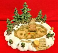 Pine Point Pond Dept 56 Village Accessories 52618 Christmas snow lake heritage A