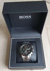 Hugo Boss Herren Chronograph Rafale 1513509 Edelstahl Armbanduhr