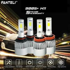 9005+H11 CREE LED Headlight High+Low Bulbs For Mazda 3 6 CX7 CX9 3020W 453000LM