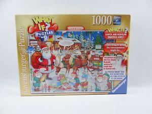 RAVENSBURGER 'Santa & Rudolph' What If 1000 Piece Jigsaw Puzzle - No 9