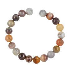 """20 Botswana Agate Round Beads 10mm 8"""" #54137"""
