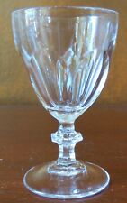 """Cristal D'Arques Durand Rambouillet Crystal 3 ¼"""" Cordial Goblet(s)"""