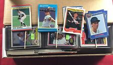 Collection Lot of Over 300 Assorted Alan Trammell Baseball Cards Years Companies