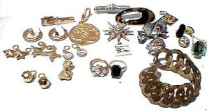 Mixed Lot of Assorted Vintage Fashion Jewelry Items, Lot #2a