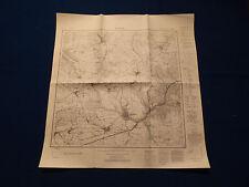 Landkarte Meßtischblatt 4321 Borgholz, Tietelsen, Erkeln, Drenke, Höxter, 1945