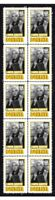 BONANZA TV STAR LORNE GREENE STRIP OF 10 MINT VIGNETTE STAMPS 3