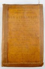 Chesterfields Advice To His Son On Men And Manners Antique Book 1844 (O) AS IS