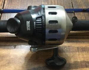 NEW Zebco 808 Spincast BOSS HAWG Reel With Bite Alert Catfish, Carp, Fishing