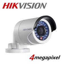 UK HIKVISION DS-2CD2042WD-I 4MM 4MP 2MP 1080P POE ONVIF WDR Network IP Camera