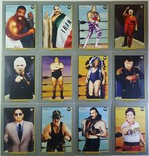 WWE HERITAGE 2 TURKEY RED Legends CARD SUB SET of 12  Topps  TL1 - 12      2007