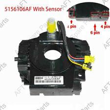 5156106AD Airbag Steering Wheel Clockspring With Sensor For Chrysler Dodge Jeep