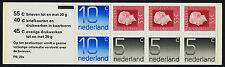 Netherlands 536a Booklet PB20a MNH Queen Juliana, Numeral