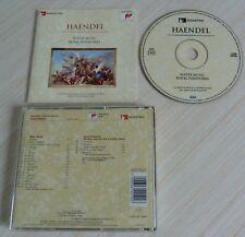 CD CLASSIQUE GEORG FRIEDRICH HAENDEL WATER MUSIC ROYAL FIREWORKS 22 TITRES 1995