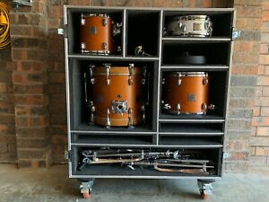 Yamaha Birch Custom Absolute Micro Bop Kit with Drum Vault Roadcase and Hardware