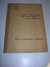 MANUALE ORIGINALE 1963 RIPARAZIONE FRENI A DISCO ALFA ROMEO GIULIA TI SPRINT GT-