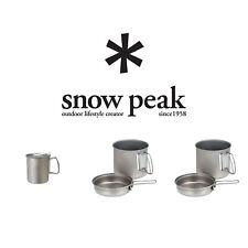 Snow Peak Titanium Trek Series Cookwear Set