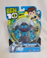 2018 Ben 10 Omni-enhanced Shock Rock Action Figure