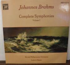 Johannes Brahms complete symphonies vol 1 MHS4115 two-record set    021918LLE