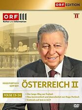 ÖSTERREICH II, Folge 13-24 (Hugo Portisch, Sepp Riff) 6 DVDs NEU+OVP