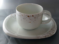 Kaffeetasse 2-teil. Rosenthal Suomi White Orchid