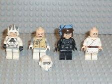 Lego ® Star Wars 4x personaje Clone Trooper Jedi 10188 75159 75192 9516 accesorios f959
