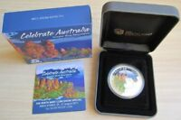 Australien 1 Dollar 2011 Celebrate Australia Blue Mountains 1 Oz Silber