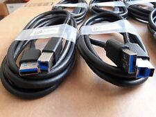 Lot of (48) 6ft USB SuperSpeed 3.0 Type A Male to Type B Male Cable Cord