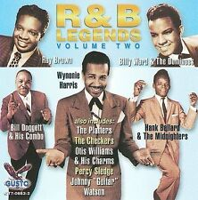 R&B Legends Volume Two by Various Artists (CD, 2008, Gusto Records) New Sealed