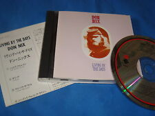 RARE JAPAN CD / DON NIX / LIVING BY THE DAYS / ELEKTRA WPCP-4157 / NEAR MINT pop