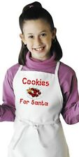 Children's Holiday Cooking Apron Cookies For Santa Kids Aprons by CoolAprons