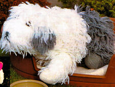 old english sheepdog knitting pattern 99p