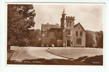 Hartree Hotel Biggar Lanarkshire 1948 Real Photograph Holder Gaston Hse Bidford