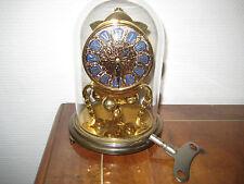 Jahresuhr Drehpendel Uhr KUNDO Kieninger & Obergfeli Kamin Uhr Tischuhr um 1930